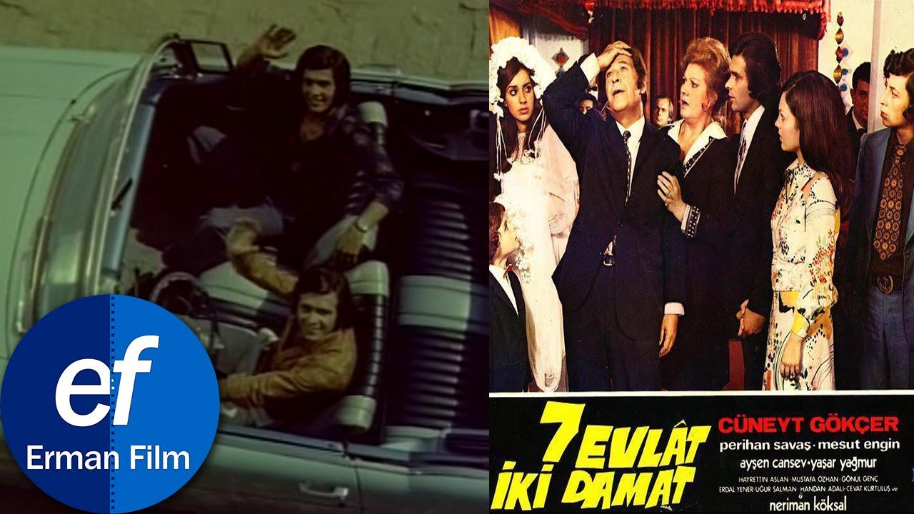 Yedi Evlat İki Damat (1973) - Cüneyt Gökçer & Perihan Savaş