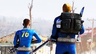 """FALLOUT 76 """"Wastelanders"""" Gameplay Trailer (2019) PS4 / Xbox One / PC"""