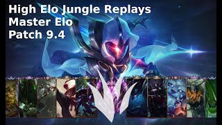High Elo Jungle Replay  Master Yi (Funnel Strategy)  Master Elo  Patch 94  (113)