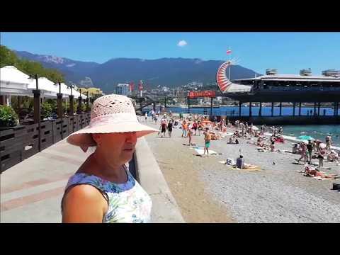 Отдых в Крыму. Где-то в Крыму ))  Видео от  yalta-hotel.ru