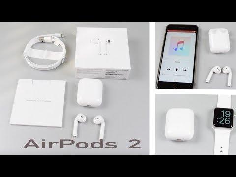 AirPods 2  распаковка и обзор