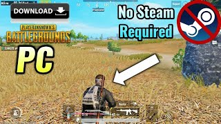 Download PUBG for Free on PC   No Steam Require