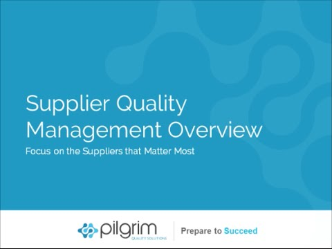 smartsolve-supplier-quality-management-overview
