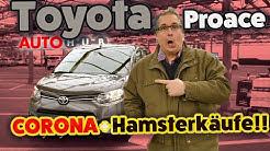 Corona, Hamsterkäufe und der neue Toyota Proace City im Test