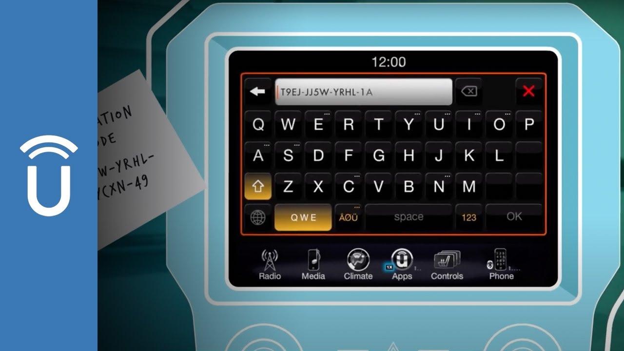 dodge uconnect navigation activation code