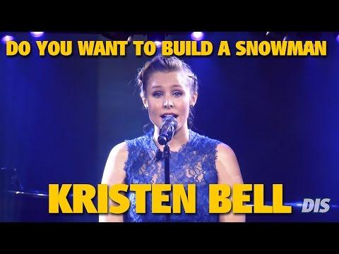 Kristen Bell sings