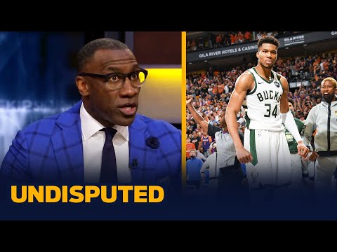 Has Giannis earned his respect during the Finals? — Skip & Shannon   NBA   UNDISPUTED