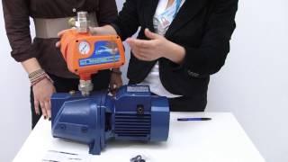 видео Что лучше - насосная станция без гидроаккумулятора или с ним. Жми!