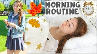 Fall Morning Routine: Running Late! | Meredith Foster