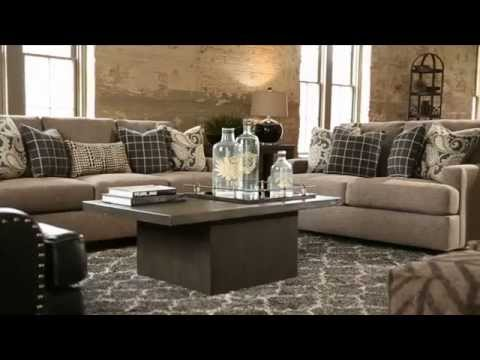 ashley furniture homestore - gypsum living room - youtube