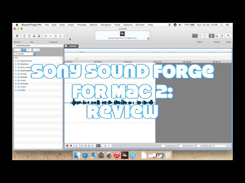 Sony Sound Forge Pro for Mac 2: Review & Tutorial