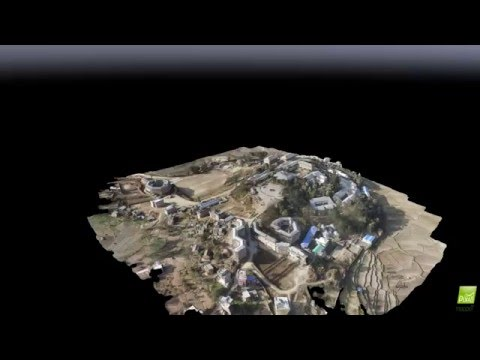 3D Model of Kathmandu University Using UAV Images (Phantom 3 Advanced + Pix4D)