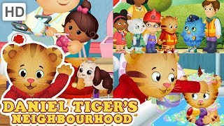 Daniel Tiger 💖 My Friends and Family Help Me! | Videos for Kids