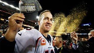 Peyton Manning & The  Denver Broncos Win The 50th Super Bowl