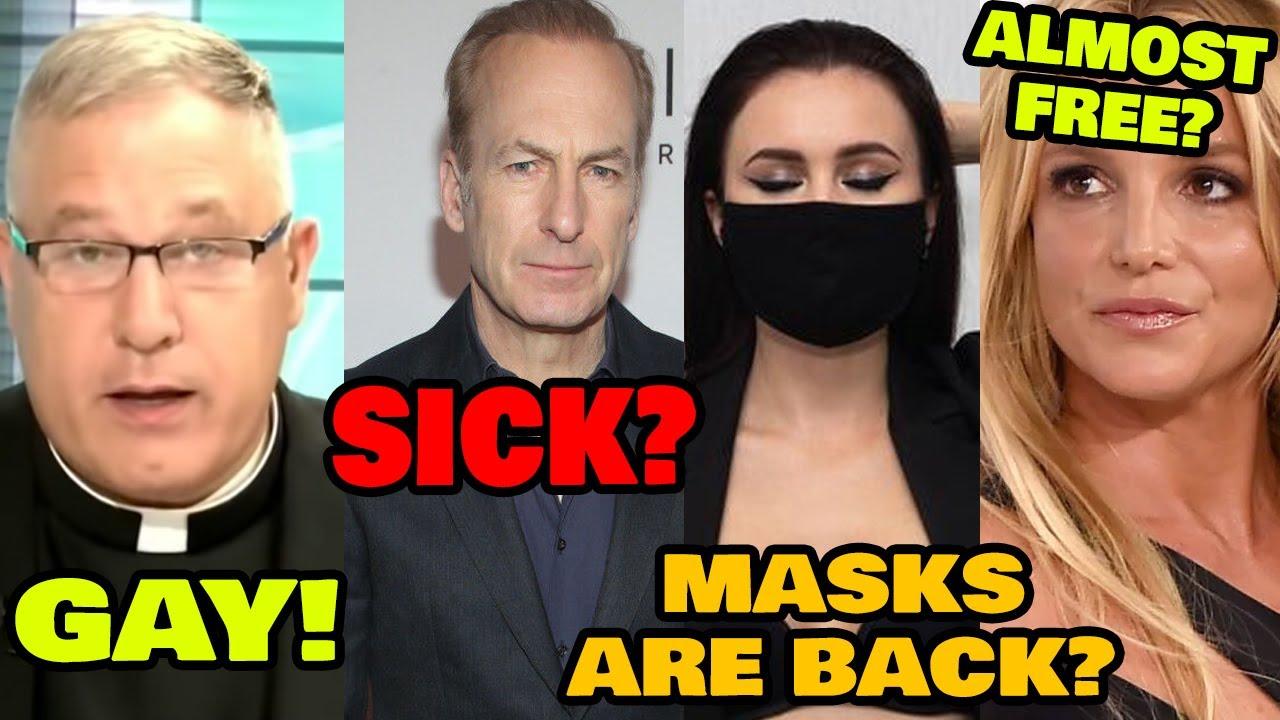 Priest Grindr! Masks Return! Bob Odenkirk Collapses! Britney Free? Flash Fried - 7/28/21 - Public