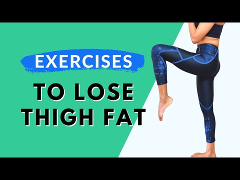 Easy Exercises To Lose Thigh Fat Fast (Hindi) | 10 min Workout Challenge | Workout At Home