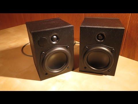 "4"" Dayton Audio compact speakers - Custom build project"