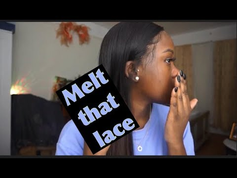 HOW TO TOUCH UP YOUR LACE FRONTAL SEWIN FT PEERLESS HAIR