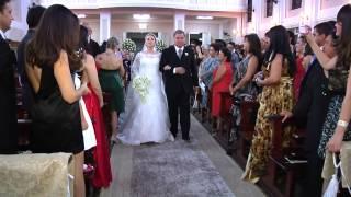 Entrada da noiva_Ludmilla e Francisco_Digital Vídeo Produtora_Ateneu Dom Bosco