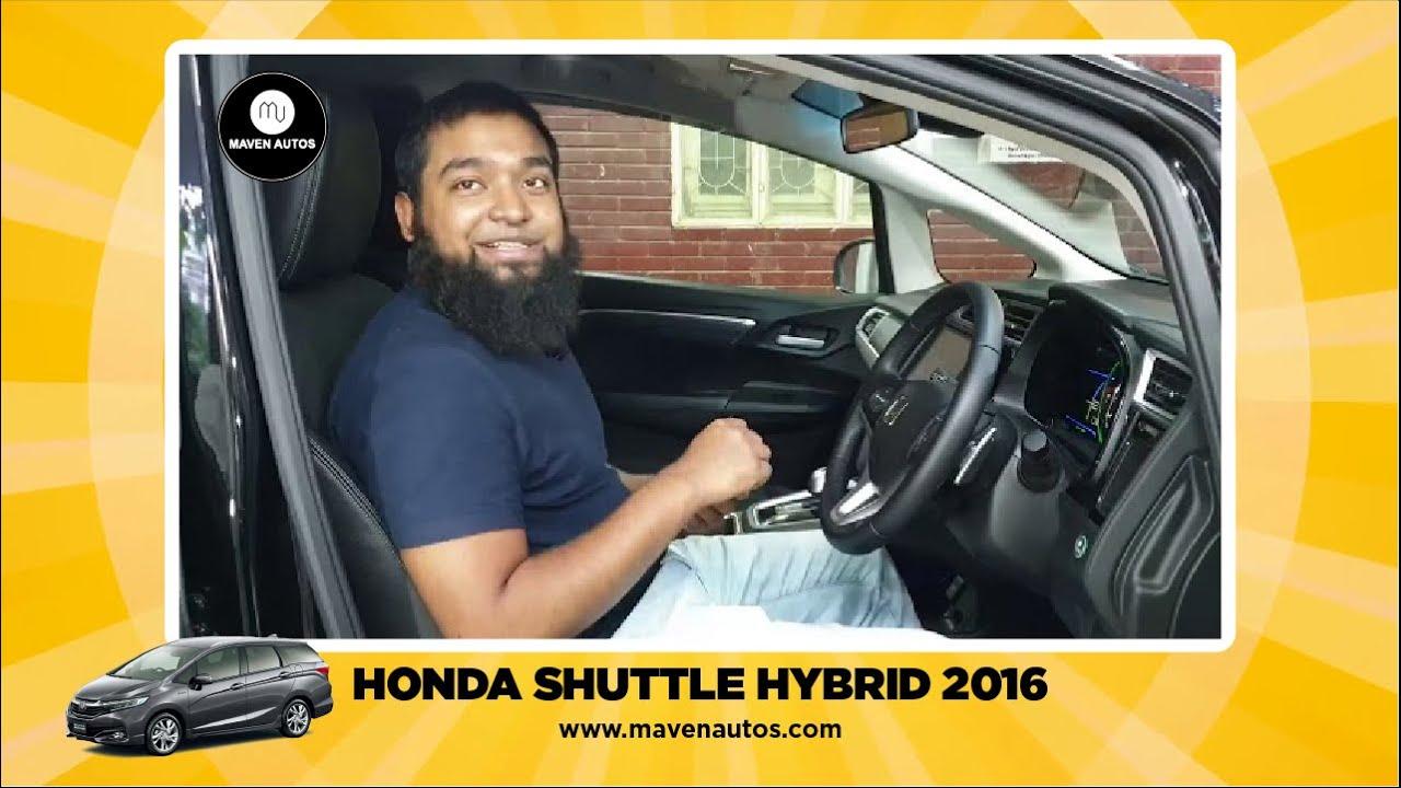 HONDA SHUTTLE HYBRID 2016. - YouTube