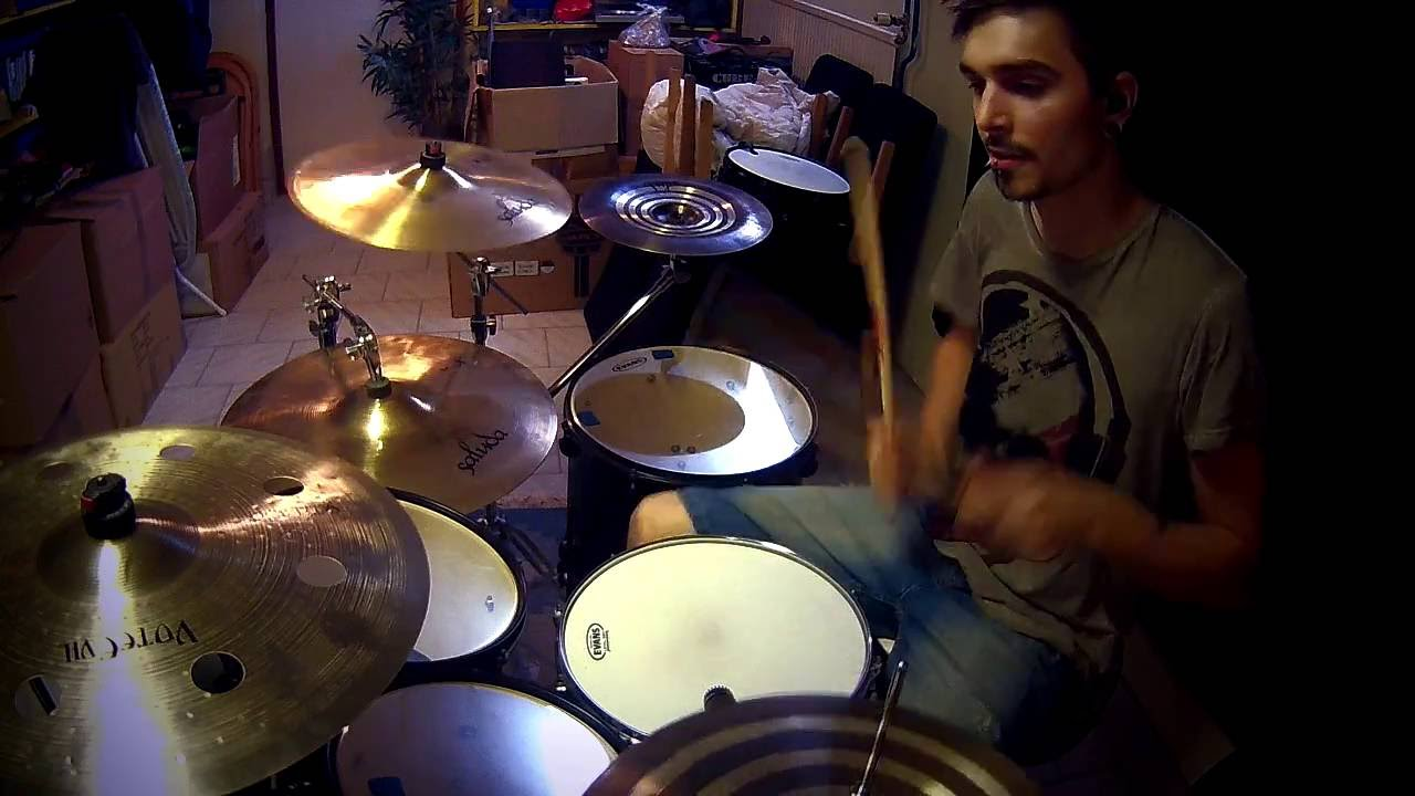 Avenged Sevenfold Hail To The King Drum Cover Youtube