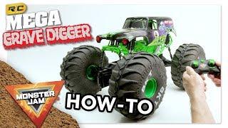 Monster Jam   Mega Grave Digger   Driving Mega Grave Digger