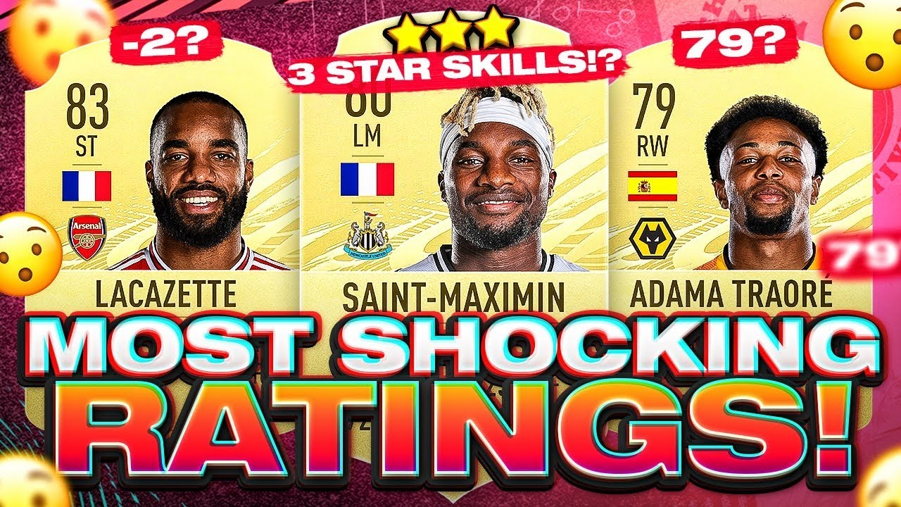 FIFA 21 Most Shocking New Player Ratings!