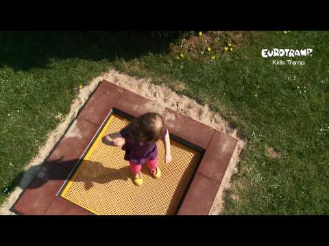 "Video: Eurotramp Kids-Bodentrampolin ""Playground"""