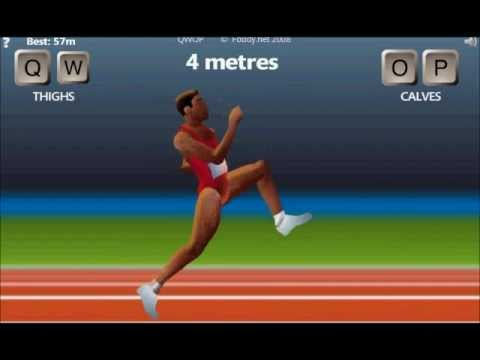 I BEAT QWOP THE WORLD'S HARDEST GAME BY ACTUALLY RUNNING!!!
