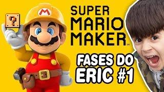 SUPER MARIO MAKER #1 Fases do Eric - Gameplay em Português PT-BR