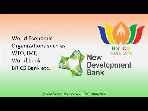 Important World Economic Organizations