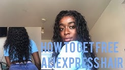 HOW TO GET FREE ALIEXPRESS HAIR| COOKING UP A STORM (WATCH IN HD)