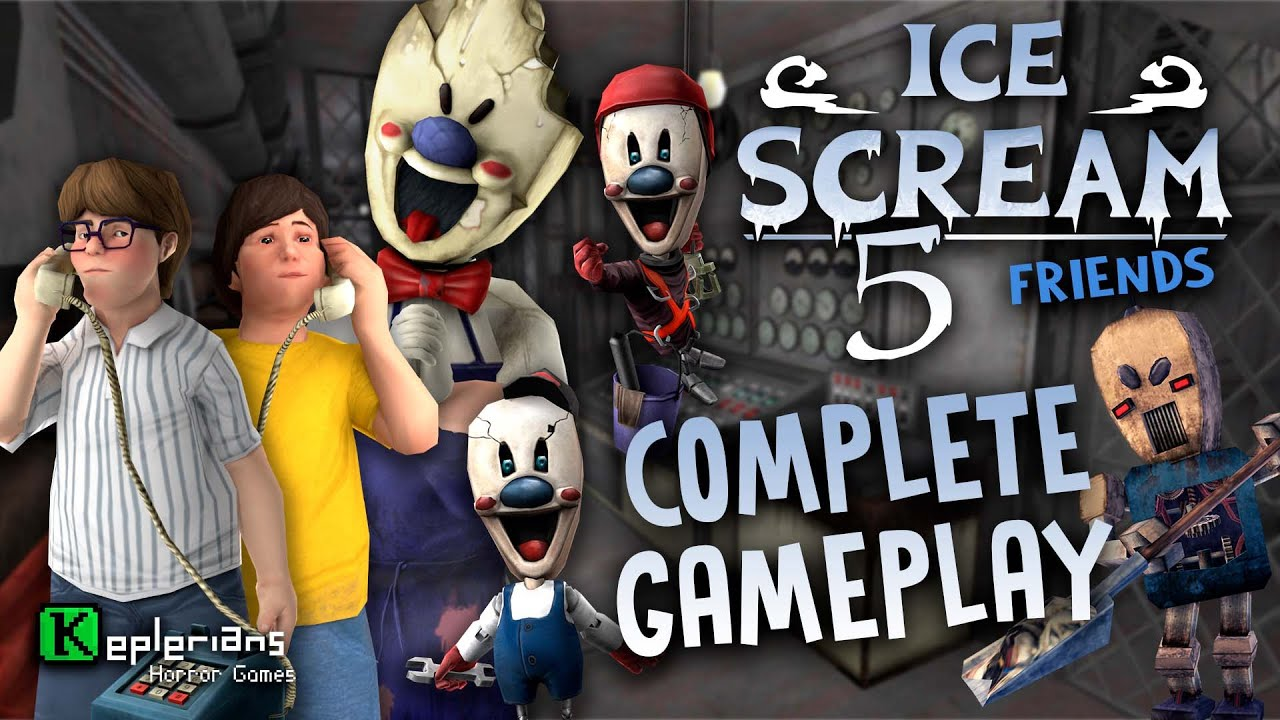 Download ICE SCREAM 5 COMPLETE GAMEPLAY   MIKE meets J.   ROD SULLIVAN CHILDHOOD   Gameplay CHALLENGE