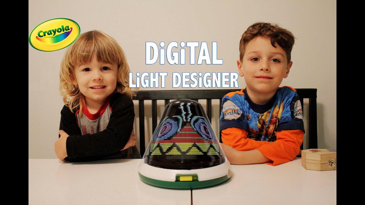 Crayola Digital Light Designer Youtube