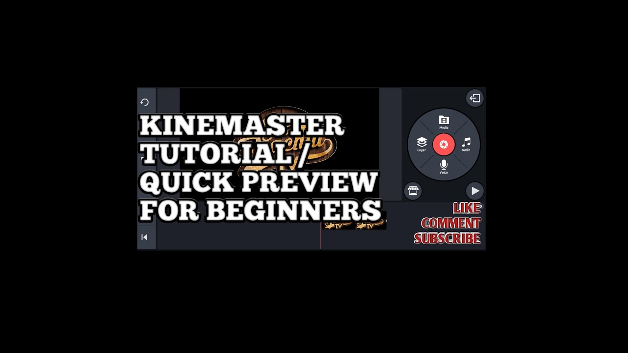 Kinemaster Tutorial / Quick Preview for Beginners
