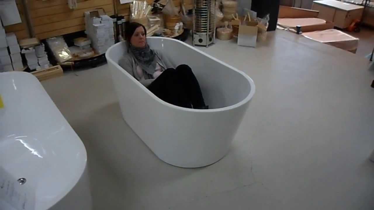 lille badekar Lille badekar   Oval Ultra slim 150   YouTube lille badekar