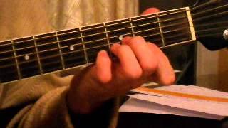 Ворон (аккорды-табы-разбор), А. Розенбаум