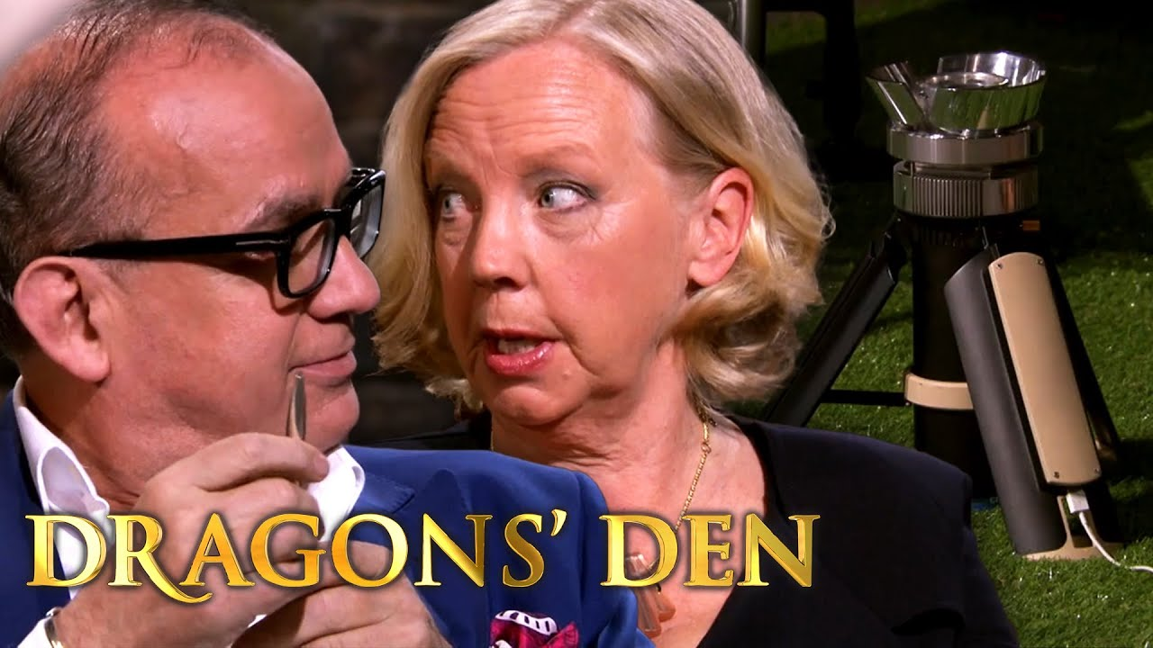 Touker Gets Under Deborah's Skin Over 'The Most Efficient Camping Stove Ever Made'   Dragons' Den