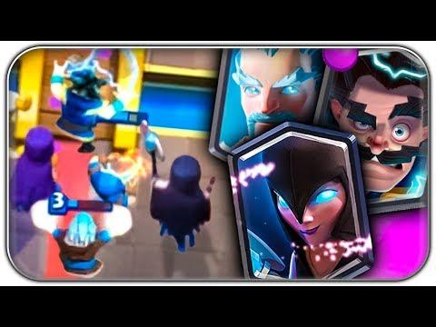 DAS MAGIER HEXEN FAMILIEN DECK | Clash Royale Let's Play | Deutsch German
