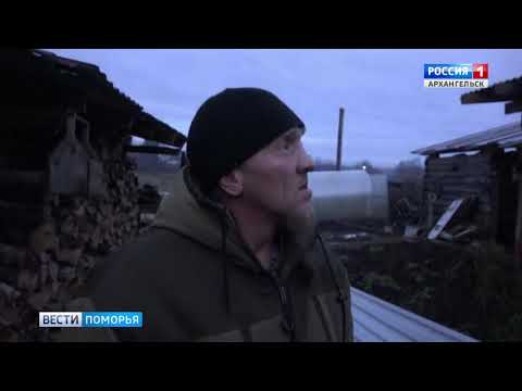 К зиме готовятся крестьяне самого северного города Архангельской области — Мезени