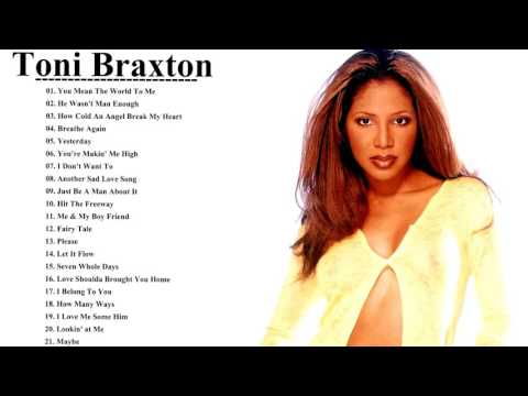 Toni Braxton Greatest Hits Playlist || Toni Braxton New Songs Collection [Greatest Hits Cover]
