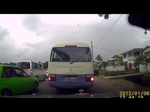 Traffic Woes on West Demerara - Video from 27/01/2016