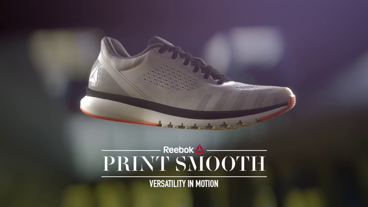 940cd10117fc Reebok Print Run Smooth - YouTube