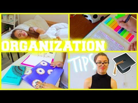 איך להיות מאורגן לבית הספר/ DIY + טיפים | הגרלה ענקית לכבוד 50K!