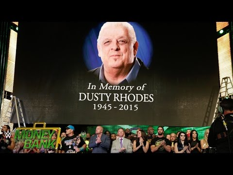 "WWE Network: The WWE roster honors the life of WWE Hall of Famer ""The American Dream"" Dusty Rhodes"