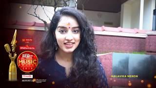 Red FM Malayalam Music Awards 2019 | Malavika Menon