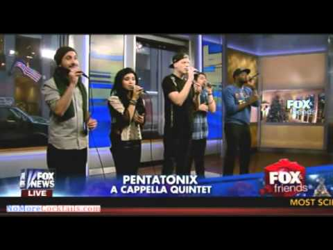 Pentatonix performs Little Dummer Boy live on Fox & Friends