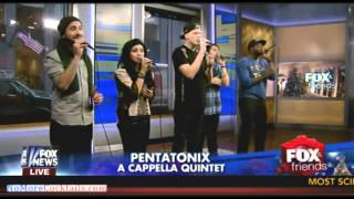 Pentatonix Performs Little Dummer Boy Live On Fox Friends