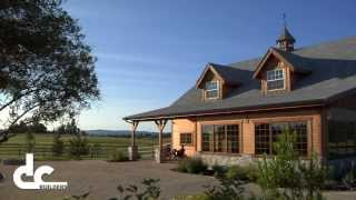 Custom Wood Barn In Canby, Or - Construction   Dc Building
