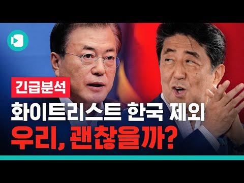"""""""화이트리스트에서 빠지면 한국 큰일 남?"""".. 日 화이트리스트 논란 6분 정리 / 비디오머그"""